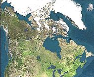 [Canada, seen from space]