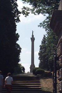 [Photo:  War of 1812 Monument to General Brock]
