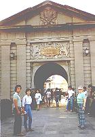 [Gate into Intramuros, the walled city of Manila]